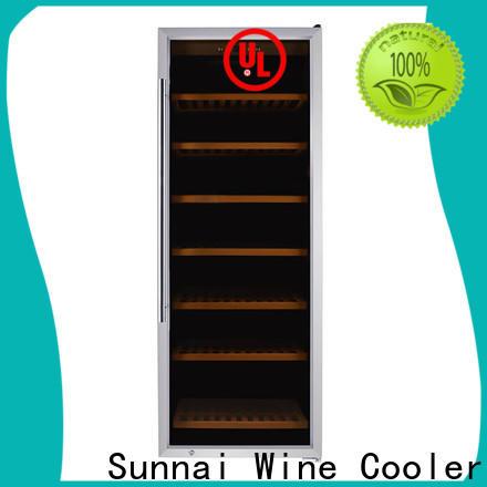 Sunnai shelves best freestanding wine cooler refrigerator for indoor