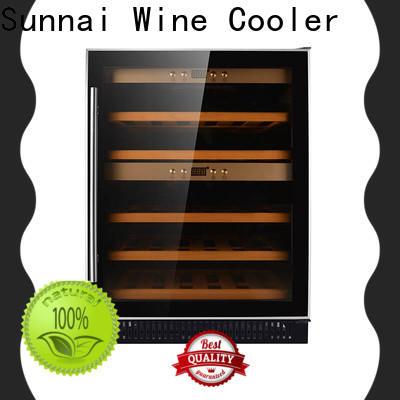 Sunnai single double door wine refrigerator compressor for indoor