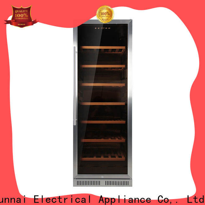 Sunnai double under counter wine fridge compressor for work station