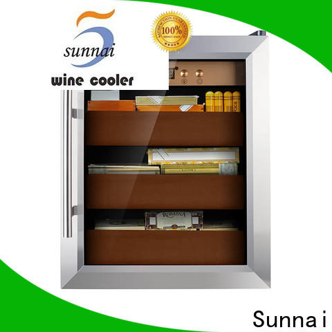Sunnai online stainless steel cigar humidor company for indoor