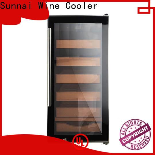 Sunnai electric cigar humidor cedar wholesale for work station