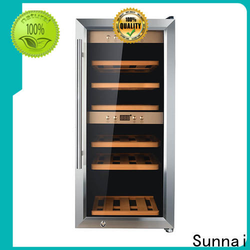 Sunnai online dual wine cooler product for shop