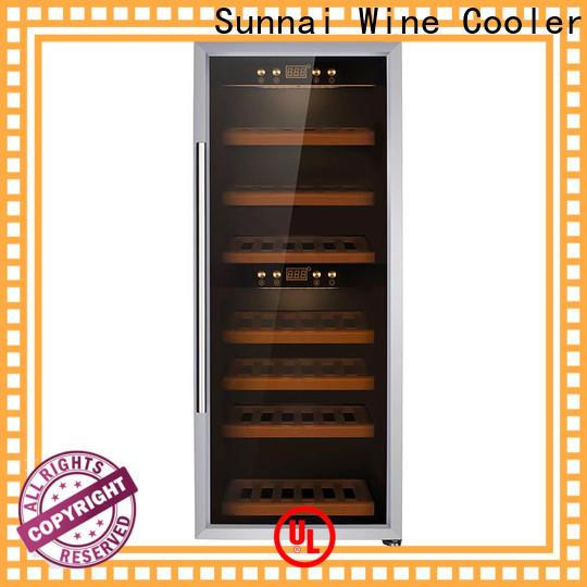 Sunnai black compressor wine refrigerator series for home