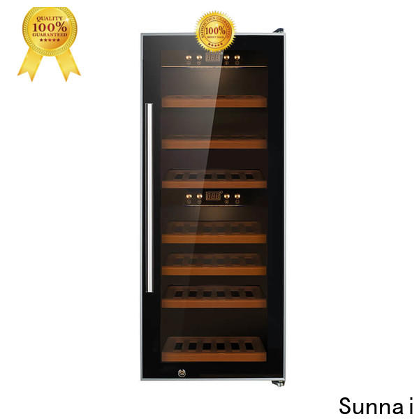 wine affordable wine fridge double supplier for shop