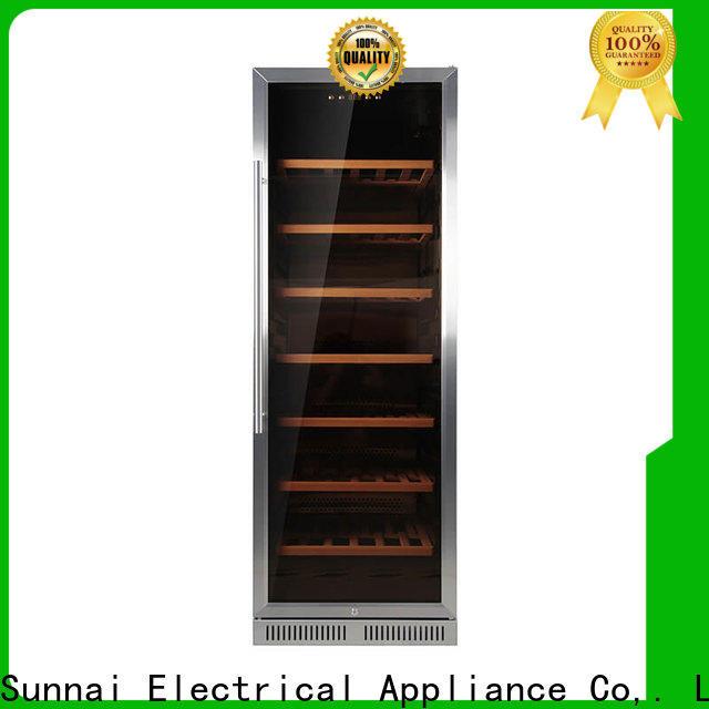 Sunnai refrigerator under counter wine fridge manufacturer for work station