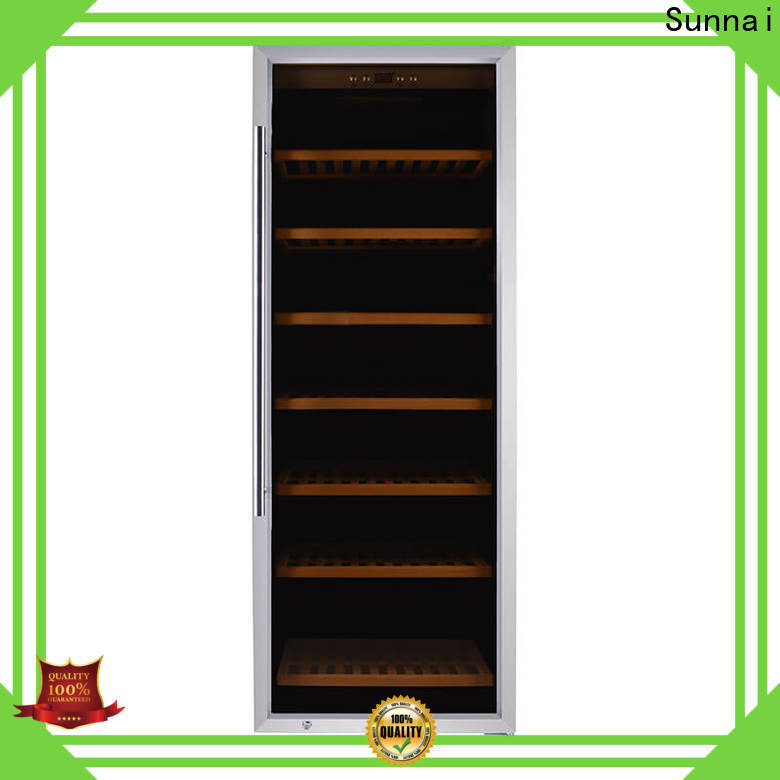 Sunnai freestanding freestanding wine cooler in cabinet supplier for shop
