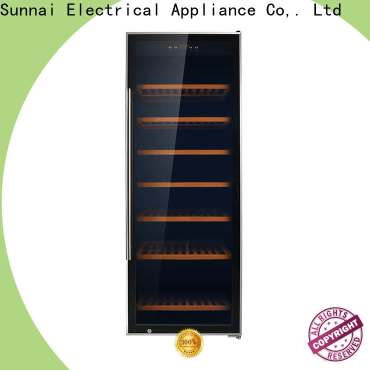 Sunnai high quality wine cellar wine fridge product for indoor