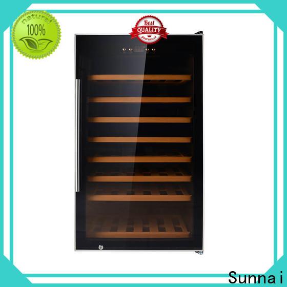 single wide wine cooler size wholesale for shop