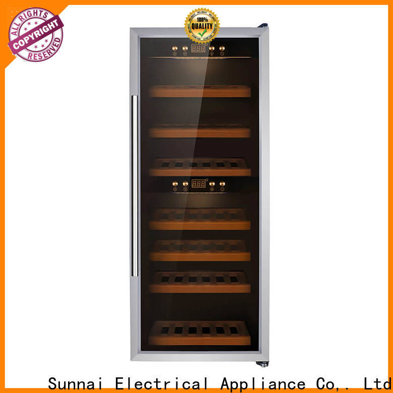 Sunnai fridge single zone wine cooler series for work station