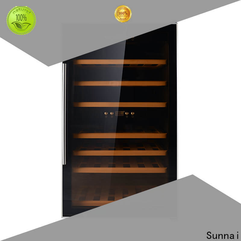 Sunnai online tall skinny wine fridge product for home