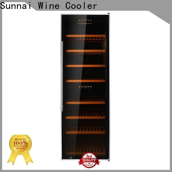 Sunnai wine wine cabinet chiller supplier for shop