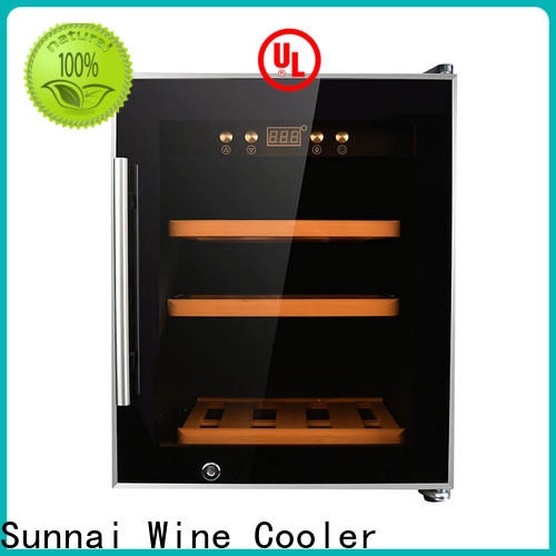 Sunnai double a wine cooler manufacturer for indoor