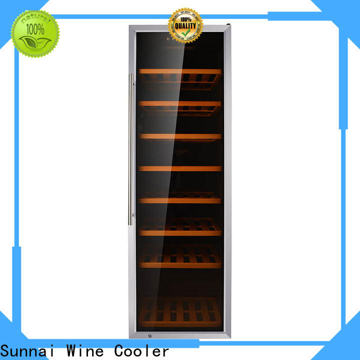 Sunnai zone tall wine cooler slim wholesale for indoor