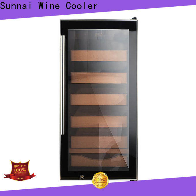 Sunnai online cigar refrigerator Suppliers for shop