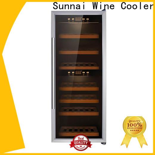single black wine cooler table manufacturer for work station