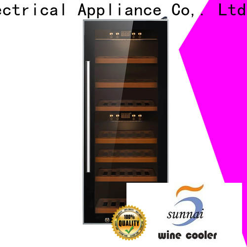 single small wine cooler chiller product for shop