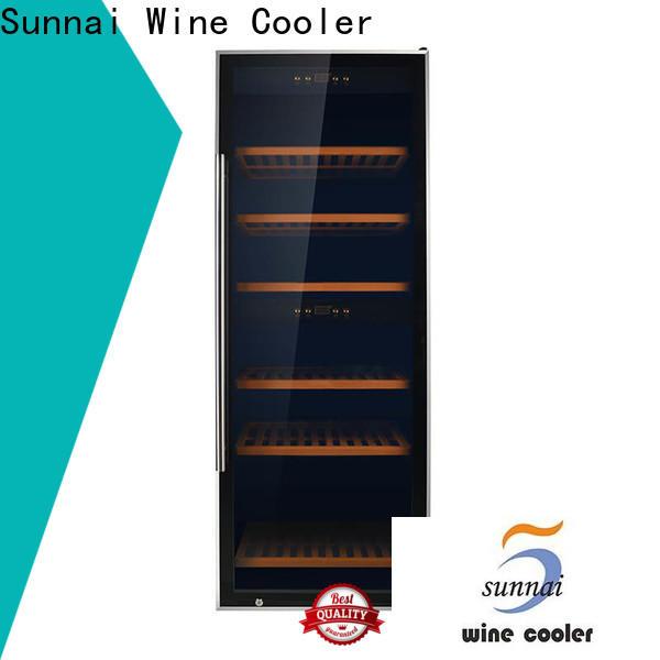 Sunnai door tall narrow wine cooler wholesale for work station
