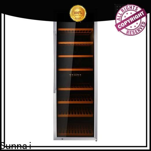 Sunnai shelves 21 inch wine cooler refrigerator for home