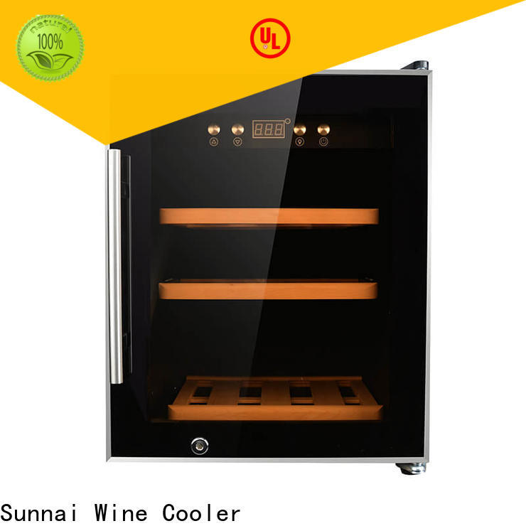 Sunnai professional wine cooler cost manufacturer for home