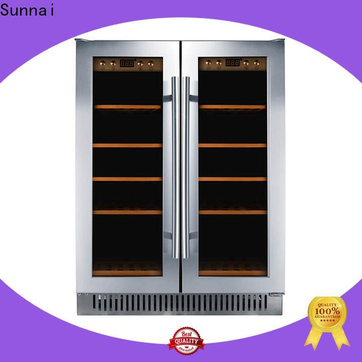 Sunnai refrigerator double door wine refrigerator series for home