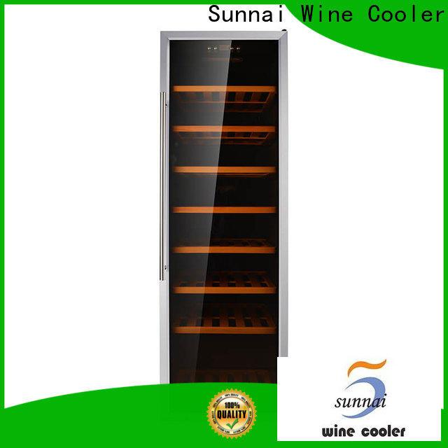 Sunnai bottles electric wine cooler cabinet refrigerator for indoor