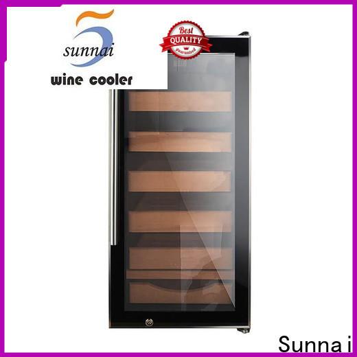 Sunnai cooler cigar humidor cooler supplier for work station