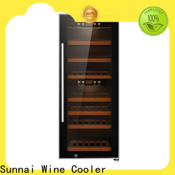 Sunnai size wine cooler 21 inches wide supplier for home