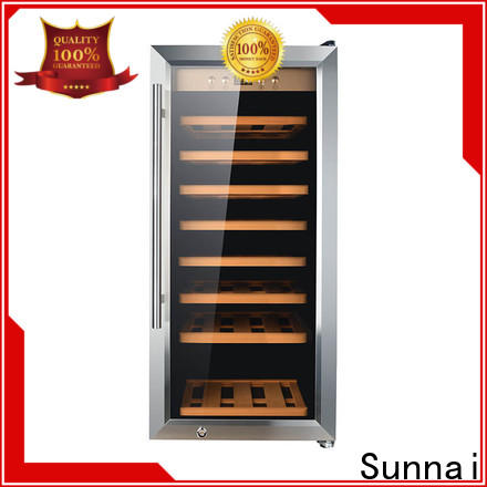 Sunnai online wine beverage fridge series for shop