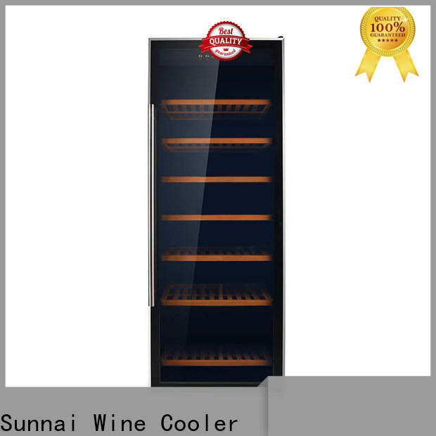Sunnai durable 21 inch wine fridge refrigerator for indoor