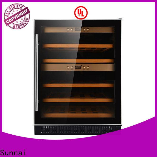 Sunnai refrigerator narrow under counter wine fridge series for shop