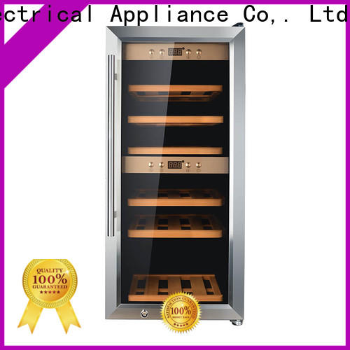 online dual zone freestanding wine cooler beech wholesale for work station