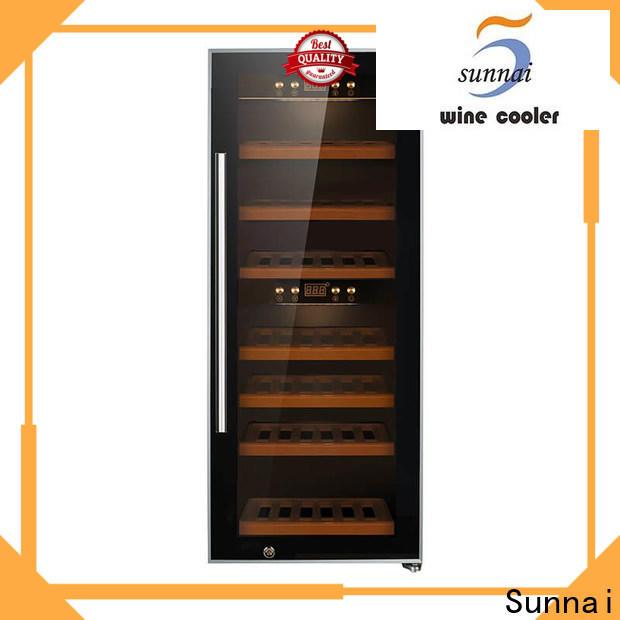 Sunnai cooler wine cooler built under supplier for shop
