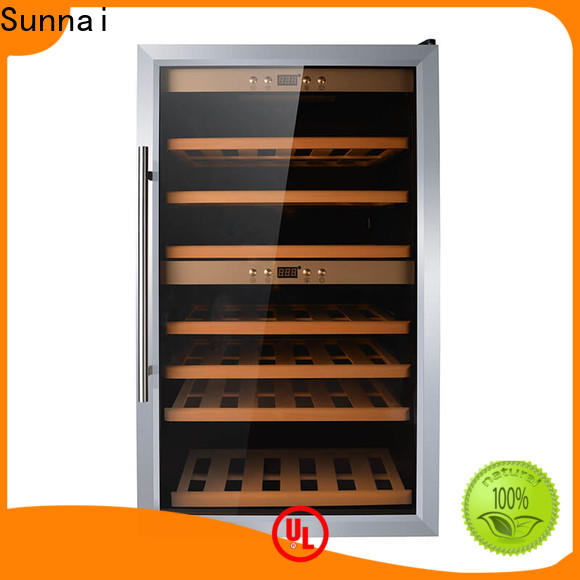 Sunnai steel 18 wine cooler undercounter wholesale for work station