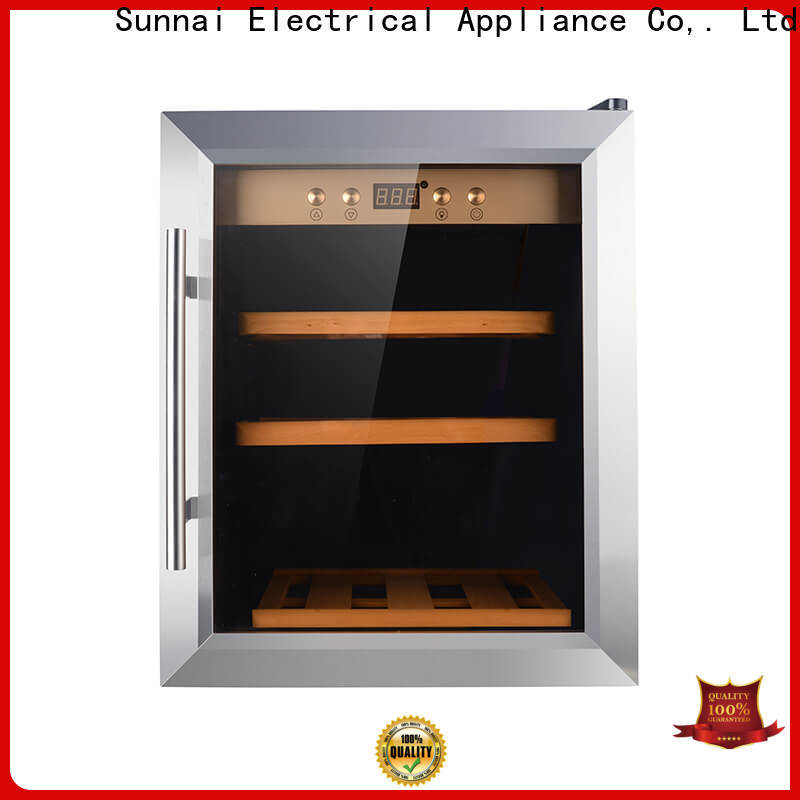 Sunnai stainless wine cooler 17 wide series for shop