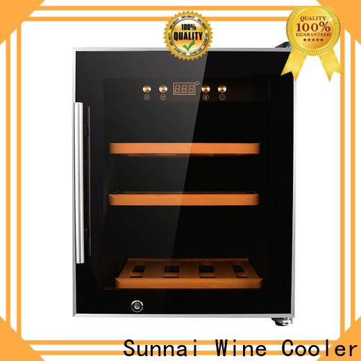 Sunnai high quality wine fridge 15 wide supplier for home