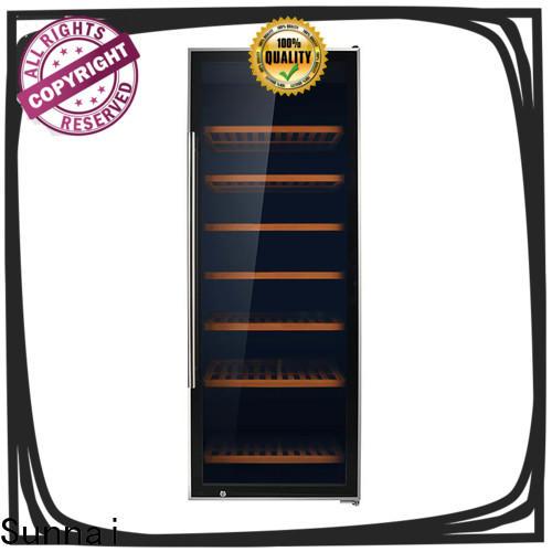 Sunnai black wine cooler 34 height supplier for shop
