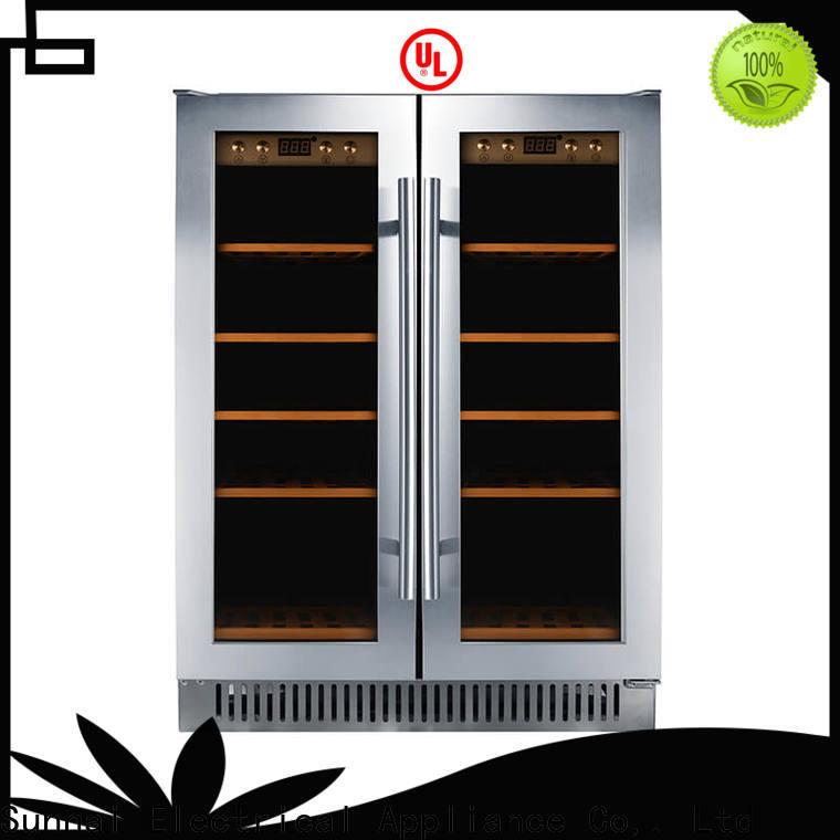 Sunnai safety best compressor wine cooler manufacturer for work station