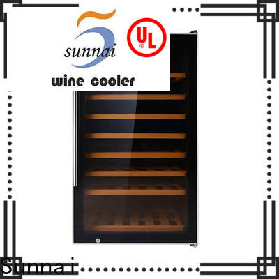 Sunnai dual white wine fridges refrigerator for home