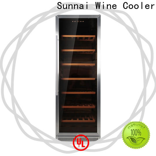 Sunnai double under worktop wine cooler cooler for work station