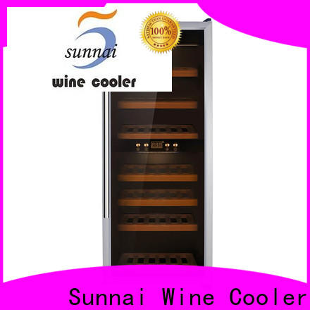 Sunnai single wine and beer cooler cabinets wholesale for shop