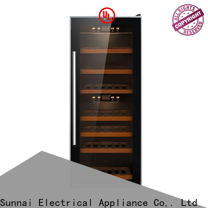 black under counter wine cooler 20 inches wide single supplier for home