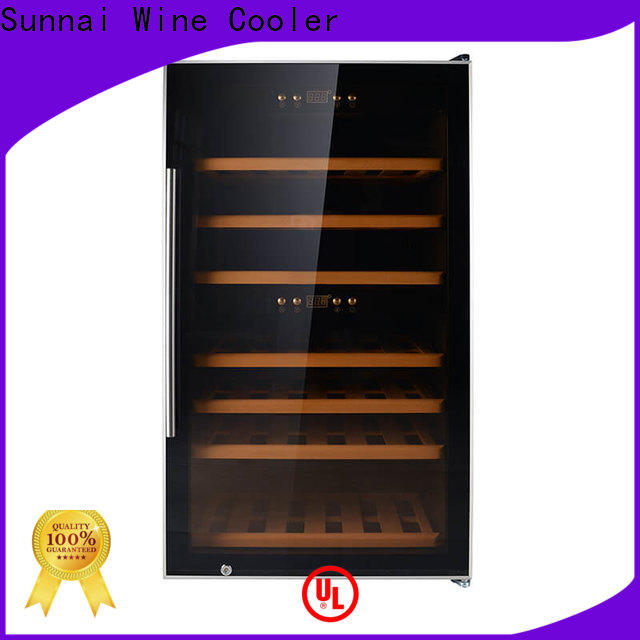 Sunnai high quality large wine cooler wholesale for indoor