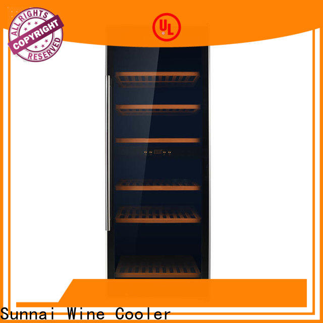 wine wine chiller cooler dual refrigerator for home