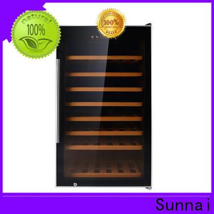Sunnai online small wine fridge wholesale for work station