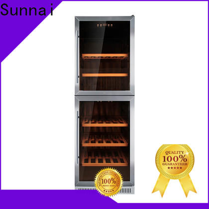 Sunnai cooler slim undercounter wine cooler series for indoor