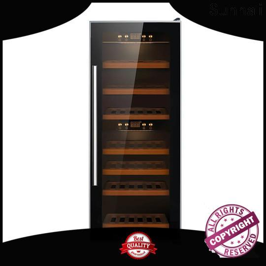 Sunnai wine freestanding wine cooler under cabinet series for shop