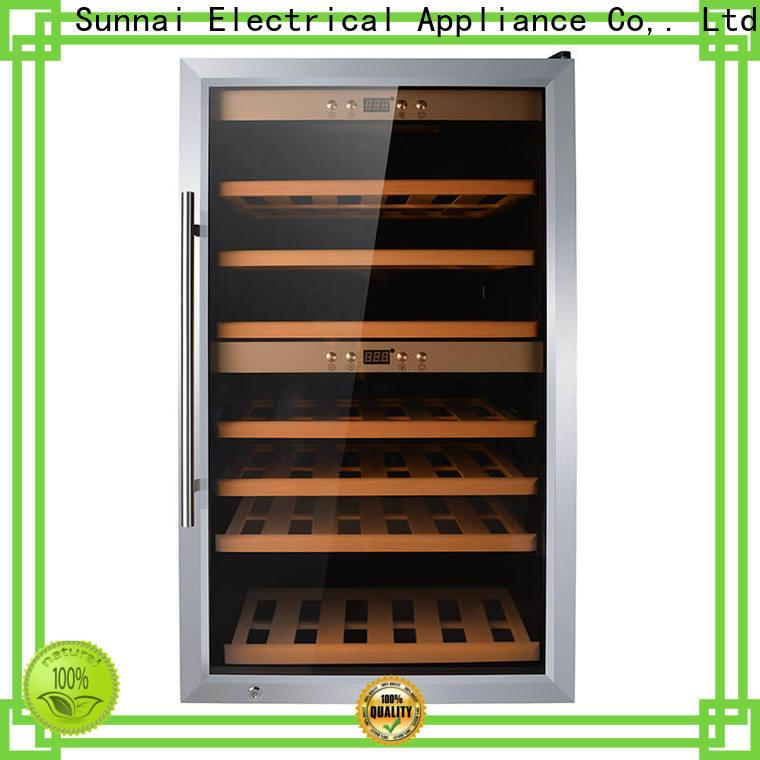 Sunnai single fridge full of wine wholesale for work station