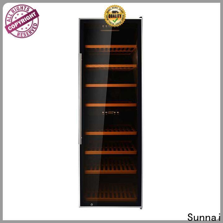 Sunnai fridge american style fridge with wine cooler manufacturer for work station