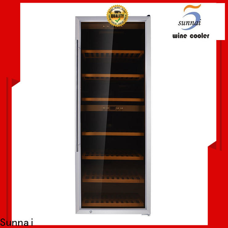 durable tall skinny wine refrigerator silver refrigerator for work station