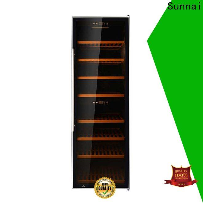 Sunnai online narrow wine chiller refrigerator for work station